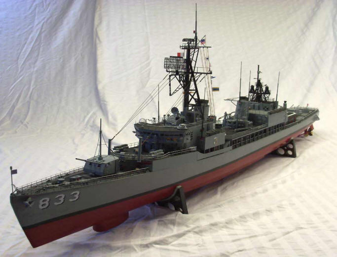 USS Herbert J Thomas DD-833 1/96